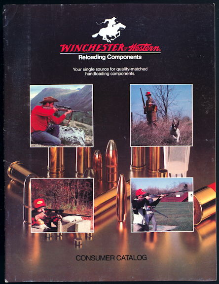 #MS308 - 1978 Winchester Western 1978 Reloading Components Consumer Catalog