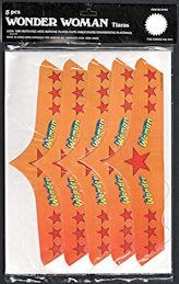 #CH428 - Package of 5 Wonder Woman Tiaras - DC Comics 1977