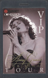 ##MUSICBP0762 - Amy Grant Perri Laminated VIP Backstage Pass from the 1997 Chrismas Tour