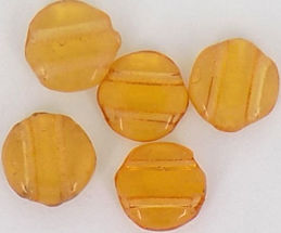 #BEADS0572 - Four Hole Beads from the Roaring 20s - As low as 8¢ each