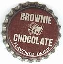 #BC074 - Group of 10 Brownie Chocolate Bottle Caps