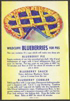 #ZLCA094 - Wildcliffe Blueberry Can Label