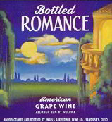 #ZLW063 - Bottled Romance Label - Artwork was done by R. Atkinson Fox