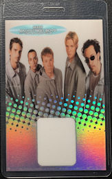 ##MUSICBP0451 - BackStreet Boys Laminated Perri Backstage Pass from the Millennium Tour