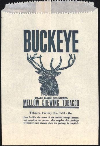 #TOP007 - Buckeye Chewing Tobacco Bag