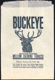 #TOP007 - Buckeye Chewing Tobacco Bag