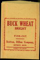 #TOP014 - Buck Wheat Bright Tobacco Bag