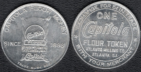 #CS257 - Group of 4 Capitola Flour Good for Tokens