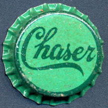 #BC153 - Group of 10 Early Cork Lined Chaser Soda Bottle Caps