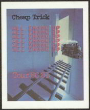 ##MUSICBP0035  - 1980/81 Cheap Trick OTTO Backstage Pass from the All Shook Up Album Tour