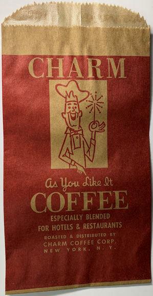 #CS023 - Group of 4 Charm Coffee Bags