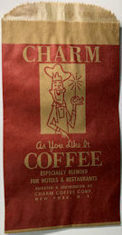 #CS023 - Group of 4 Charm Coffee Bags