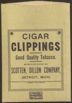 #TOP018 - Cigar Clippings Tobacco Bag - Scotten Dillon