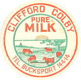#DC120 - Clifford Colby Pure Milk Cap - Herd of Cows