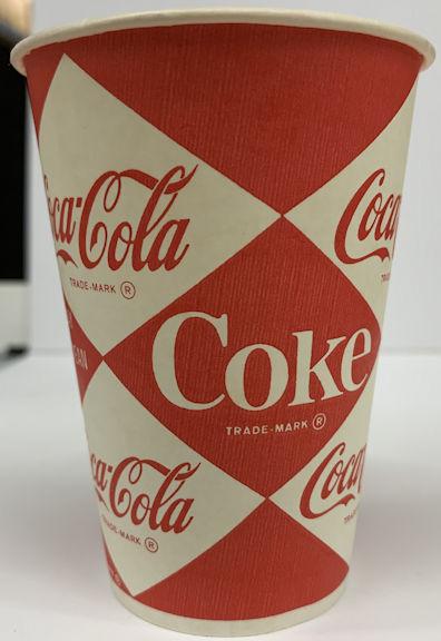#CC011 - Diamond Logo Coke Cup