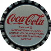 #BC003 - Group of 10 Early Plastic Lined Coca Cola Bottle Caps