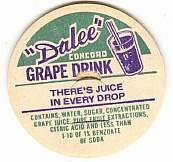 #DC017 - Dalee Dairy Concord Grape Drink Cap