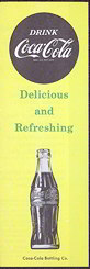 "#CC191 - Coca Cola ""Refreshing Secret"" Carton Insert"