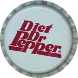 #BC043 - Group of 10 Diet Dr Pepper Caps (white background)