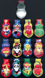 "#TY740  - Group of 12 different ""Japan"" Clickers"