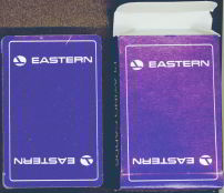 #CA031 - Full Unopened Sealed Deck of Eastern Airlines Playing Cards