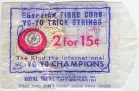 #TY001 - Package of Royal Egyptian Yo-Yo Strings