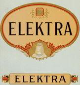 #ZLSC052 - Elektra Cigar Box Label