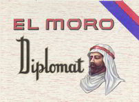 #ZLSC059 - El Moro Diplomat Cigar Box Label