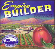 #ZLC217 - Empire Builder Apple Crate Label