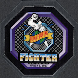 ##MUSICBP0926 - Laminated OTTO Backstage Pass for The Ultimate Fighter Championship in 1999