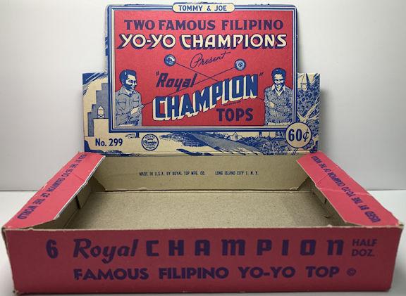 #TY281 - Filipino Champion Yo-Yo Display Box