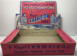 #TY281 - Filipino Champion Yo-Yo Display Box