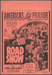#CH326-35 - Road Show Movie Poster - Gay with Girls