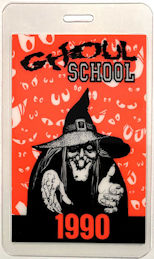 #HH224 - Ghoul School OTTO Laminated Backstage Pass - Witch