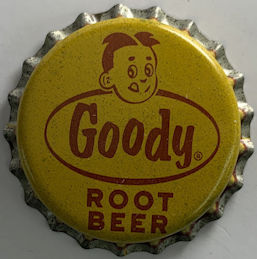 #BC223 - Goody Root Beer Cork Lined Soda Bottle Cap