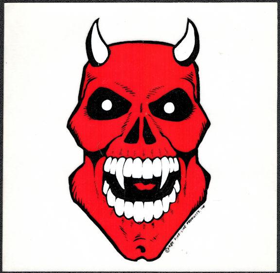 ##MUSICBP2029 - Grateful Dead Car Window Tour Sticker/Decal - Demon Fine-Line