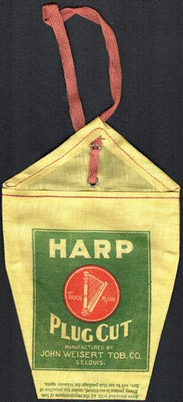 #TOP041 - Harp Cut Plug Cloth Tobacco Bag