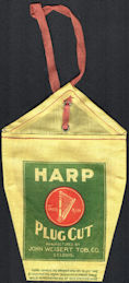 #TOP041 - Harp Cut Plug Cloth Tobacco Bag