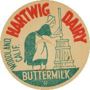 #DC095 - Hartwig Dairy Buttermilk Cap with Dutch Lady