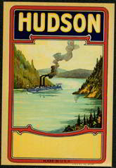 #ZLB025 - Hudson Broom Label with Riverboat