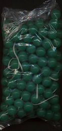 #BEADS0690 - Strand of 144 Cherry Brand Opaque Jade 10mm Glass Beads