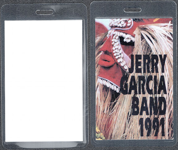 "##MUSICBP0622 - 1991 Jerry Garcia Band Laminated OTTO Backstage Pass from the ""1991"" Tour"