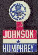 #PL174 -  Johnson Humphrey Political Tab