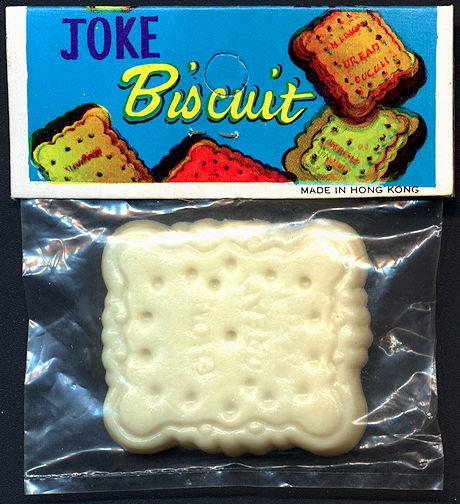 #TY670 - Joke Biscuit Novelty in Original Packaging - As Low As $1 each