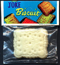 #TY670 - Joke Biscuit Novelty in Original Packaging - As Low As $1 each