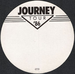 ##MUSICBP0566  - Round 1986  Journey Tour OTTO Cloth Backstage Pass