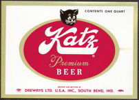 #ZLBE041 - Katz Premium Beer Label