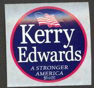 #PL243 - Kerry Edwards Slogan Sticker