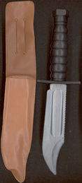 #TY444 - Full Size Toy Knife with Shield That has a Belt Loop