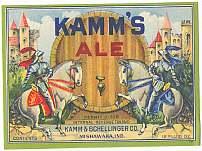 #ZLBE016 - Kamm's Ale Label